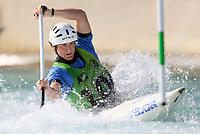 Zachary Lokken. Oceania Canoe Slalom Championships, Whero Whitewater Park, Auckland, New Zealand, 1st February 2020. Photo: Simon Watts/www.bwmedia.co.nz