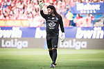 World Legend's Rene Higuita during friendly match to farewell  to Vicente Calderon Stadium in Madrid, May 28, 2017. Spain.<br /> (ALTERPHOTOS/BorjaB.Hojas)