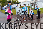 Killorglin Community College are holding their second annual cycle this March. <br /> L-R Aisling Murphy,  Guido Fanzini, Juliette Sheahan, David Mitchell and Jordan Murphy.