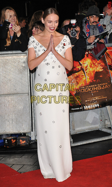 Laura Haddock attends the &quot;The Hunger Games: Mockingjay Part 2&quot; UK film premiere, Odeon Leicester Square, Leicester Square, London, England, UK, on Thursday 05 November 2015. <br /> CAP/CAN<br /> &copy;Can Nguyen/Capital Pictures