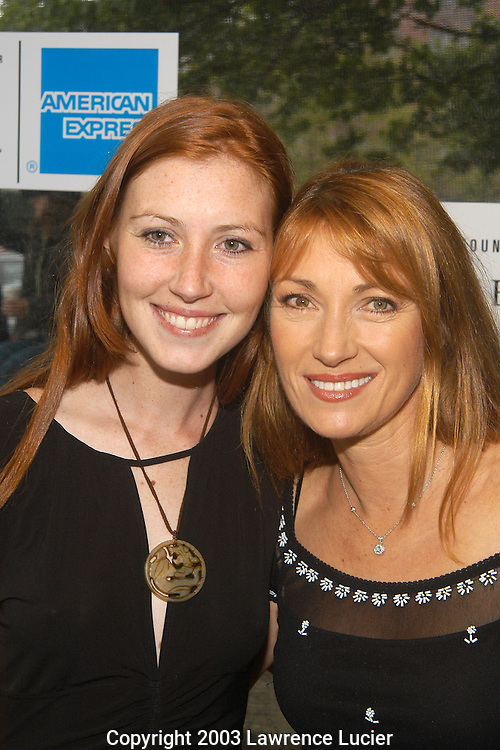 Katie Flynn (Seymour's daughter) and Jane Seymour
