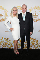 PASADENA, CA - FEBRUARY 9: Michelle Vicary, William (Bill) J. Abbott, at the Hallmark Channel and Hallmark Movies &amp; Mysteries Winter 2019 TCA at Tournament House in Pasadena, California on February 9, 2019. <br /> CAP/MPI/FS<br /> &copy;FS/MPI/Capital Pictures