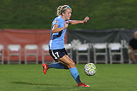 Piscataway, NJ - Wednesday Sept. 07, 2016: Nikki Stanton during a regular season National Women's Soccer League (NWSL) match between Sky Blue FC and the Orlando Pride FC at Yurcak Field.