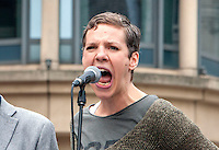 People's Post Rally; Birmingham; 4th June 2016. Francesca Martinez – Comedian & Activist for Disablement