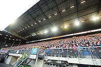 VOETBAL: HEERENVEEN: Abe Lenstra Stadion, SC Heerenveen - Vitesse, 21-01-2012, Eindstand 1-1, Publiek SC Heerenveen, tribune, ©foto Martin de Jong