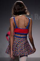 04.09.2012. Models walk the runway in the Isabel Ruiz fashion show during the EGO Mercedes-Benz Fashion Week Madrid Spring/Summer 2013 at Ifema. (Alterphotos/Marta Gonzalez) /NortePhoto.com<br /> <br /> **CREDITO*OBLIGATORIO** <br /> *No*Venta*A*Terceros*<br /> *No*Sale*So*third*<br /> *** No*Se*Permite*Hacer*Archivo**<br /> *No*Sale*So*third