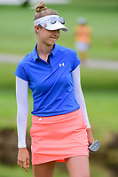Nelly Korda (USA) watches her putt on 8 during round 2 of  the Volunteers of America Texas Shootout Presented by JTBC, at the Las Colinas Country Club in Irving, Texas, USA. 4/28/2017.<br /> Picture: Golffile | Ken Murray<br /> <br /> <br /> All photo usage must carry mandatory copyright credit (&copy; Golffile | Ken Murray)