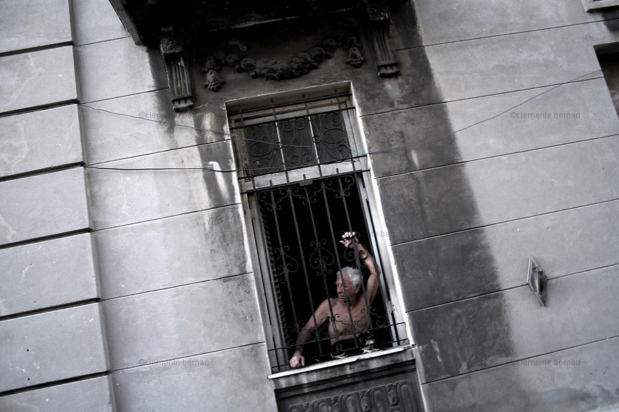 Havana (Cuba). September 2006..Centro Habana.