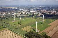 Windkraftwerke Bergedorf: EUROPA, DEUTSCHLAND, HAMBURG (GERMANY), 19.08.2017: Windkraftwerke Bergedorf