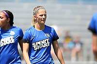 Cary, North Carolina  - Saturday June 03, 2017: Katie Bowen prior to a regular season National Women's Soccer League (NWSL) match between the North Carolina Courage and the FC Kansas City at Sahlen's Stadium at WakeMed Soccer Park. The Courage won the game 2-0.