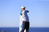 Mackenzie Hughes (CAN) tees off the 4th tee at Spyglass Hill during Thursday's Round 1 of the 2018 AT&amp;T Pebble Beach Pro-Am, held over 3 courses Pebble Beach, Spyglass Hill and Monterey, California, USA. 8th February 2018.<br /> Picture: Eoin Clarke | Golffile<br /> <br /> <br /> All photos usage must carry mandatory copyright credit (&copy; Golffile | Eoin Clarke)