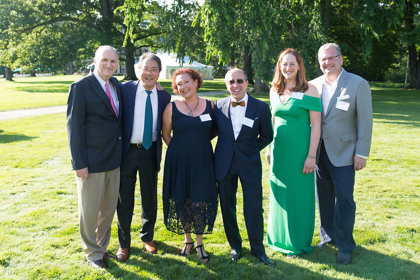 Mark Volpe, Yo-Yo Ma, Liliana and Hillel Bachrach, Martha and Todd Golub