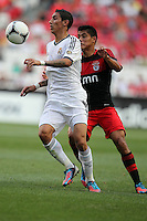 Angel Di Maria / Lorenzo Melgarejo - 27.07.2012 - Benfica / Real Madrid - Coupe Eusebio ..Photo : Carlos Rodrigues / Icon Sport....