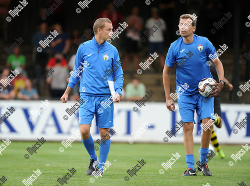 2015-07-18 / Voetbal / seizoen 2015-2016 / Berchem Sport / Bob Peeters (r.)<br /><br />Foto: Mpics.be