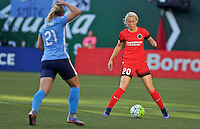 Portland, OR - Saturday July 02, 2016: McKenzie Berryhill during a regular season National Women's Soccer League (NWSL) match between the Portland Thorns FC and Sky Blue FC at Providence Park.