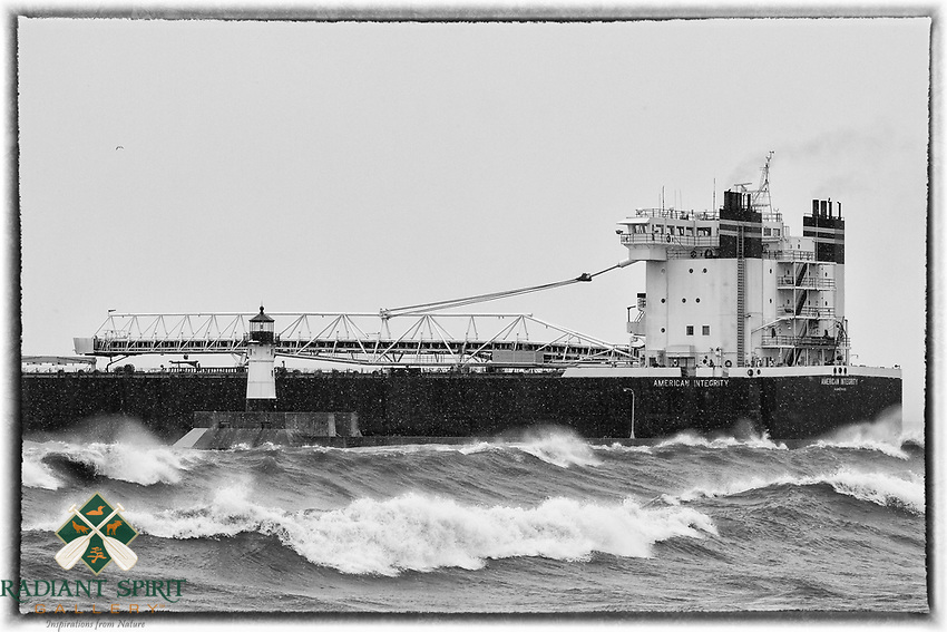 American Integrity Stormy Departure<br />