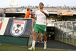 20 September 2014: New York's Carlos Mendes. The Carolina RailHawks played the New York Cosmos at WakeMed Stadium in Cary, North Carolina in a 2014 North American Soccer League Fall Season match. Carolina won the game 5-4.