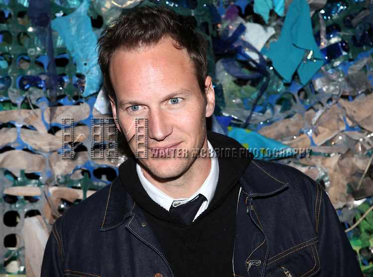 Patrick Wilson.attending the opening Night After Party for 'Peter and the Starcatcher' at Phebe's  in New York City.