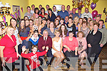 Key to the Door - Kathleen Hehir from Marian Park, Ballyheigue, seated centre having a ball with family and friends at her 21st birthday bash held in Flahive's Bar, Ballyheigue on Saturday night.