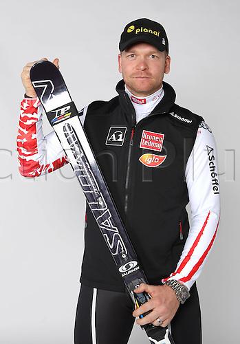 16.10.2010 Ski Alpine OSV Austria team portraits. Picture shows Klaus Kroell.