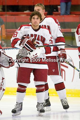 Conor Morrison (Harvard - 38) (Rempel) - The Dartmouth College Big Green defeated the Harvard University Crimson 6-2 on Sunday, November 29, 2009, at Bright Hockey Center in Cambridge, Massachusetts.