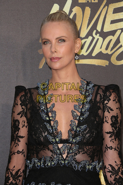 Burbank, CA - April 09 Charlize Theron Attending 25th Annual MTV Movie Awards at Warner Brothers Studios On April 09, 2016. <br /> CAP/ADM/FS<br /> &copy;FS/ADM/Capital Pictures