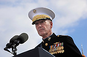 United States Marine Corps General Joseph F. Dunford Jr., Chairman of the Joint Chiefs of Staff, makes remarks at the Pentagon Memorial in Washington, DC during an observance ceremony to commemorate the 15th anniversary of the 9/11 terrorist attacks, Sunday, September 11, 2016. <br /> Credit: Dennis Brack / Pool via CNP