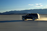 Crossing the playa in the Black Rock Desert