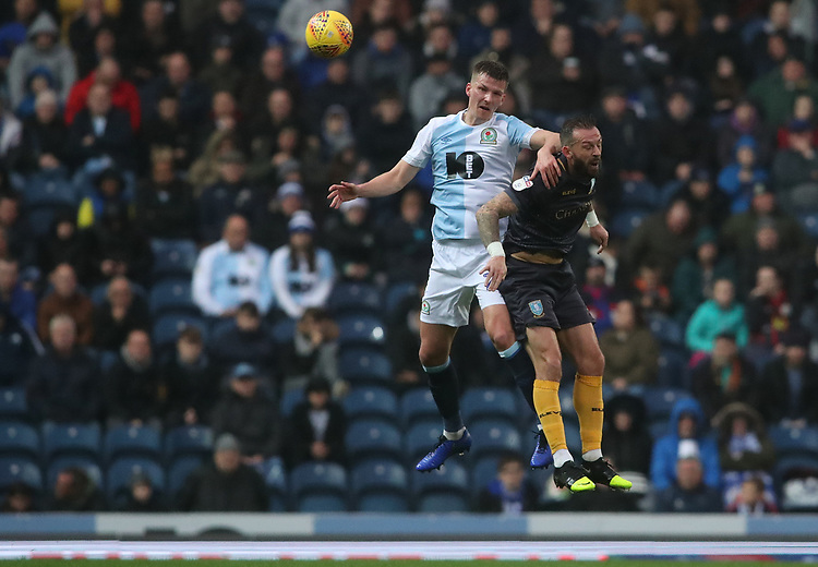 Blackburn Rovers' Paul Downing <br /> <br /> Photographer Rachel Holborn/CameraSport<br /> <br /> The EFL Sky Bet Championship - Blackburn Rovers v Sheffield Wednesday - Saturday 1st December 2018 - Ewood Park - Blackburn<br /> <br /> World Copyright &copy; 2018 CameraSport. All rights reserved. 43 Linden Ave. Countesthorpe. Leicester. England. LE8 5PG - Tel: +44 (0) 116 277 4147 - admin@camerasport.com - www.camerasport.com