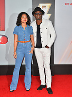 LOS ANGELES, CA. March 28, 2019: Wayne Brady & Maile Masako Brady at the world premiere of Shazam! at the TCL Chinese Theatre.<br /> Picture: Paul Smith/Featureflash