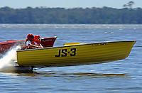 Cliff Ennis, JS-3 (Jersey Speed Skiff)