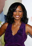 "HOLLYWOOD, CA. - September 15: Actress Garcelle Beauvais arrives at the world premiere of ""My Best Friend's Girl"" at The Arclight Hollywood on September 15, 2008 in Hollywood, California."