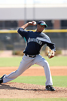 Luis Munoz, Seattle Mariners 2010 minor league spring training..Photo by:  Bill Mitchell/Four Seam Images.