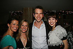 All My Children's Melissa Claire Egan, Marcia Tovsky - Adam Mayfield, Brittany Allen at Marcia Tovsky's Holiday/Bon Voyage Party for AMC on December 1, 2009 at Nikki Midtown, New York City, New York. (Photo by Sue Coflin/Max Photos)