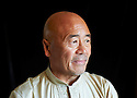 Ken Hom,Chinese cookery writer and TV Broadcaster at The Oxford Literary Festival 2011 in Christchurch,  Oxford UK. CREDIT Geraint Lewis