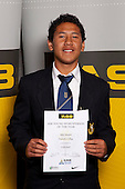 Volleyball Boys winner Riki Manori from Otahuhu College. ASB College Sport Young Sportsperson of the Year Awards held at Eden Park, Auckland, on November 11th 2010.