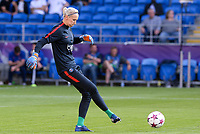 20170601 - CARDIFF , WALES : PSG's Katarzyna Kiedrzynek pictured during a womensoccer match between the teams of  Olympique Lyonnais and PARIS SG, during the final of the Uefa Women Champions League 2016 - 2017 at the Cardiff City Stadium , Cardiff - Wales - United Kingdom , Thursday 1  June 2017 . PHOTO SPORTPIX.BE | DAVID CATRY