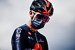 Egan Bernal (COL) Team Ineos Grenadiers at sign on before the start of Stage 3 of Tour de France 2020, running 198km from Nice to Sisteron, France. 31st August 2020.<br /> Picture: ASO/Pauline Ballet | Cyclefile<br /> All photos usage must carry mandatory copyright credit (© Cyclefile | ASO/Pauline Ballet)