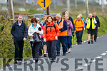 People walking to Ballyheigue Pattern Day on Saturday