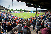 Picture by Allan McKenzie/SWpix.com - 13/05/2017 - Rugby League - Ladbrokes Challenge Cup - Castleford Tigers v St Helens - The Mend A Hose Jungle, Castleford, England - A general view of Castleford's Mend-a-Hose Jungle stadium as they host St Helens in the Ladbrokes Challenge Cup.