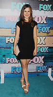 WEST HOLLYWOOD, CA - JULY 23: Zoe Jarman arrives at the FOX All-Star Party on July 23, 2012 in West Hollywood, California. / NortePhoto.com<br />