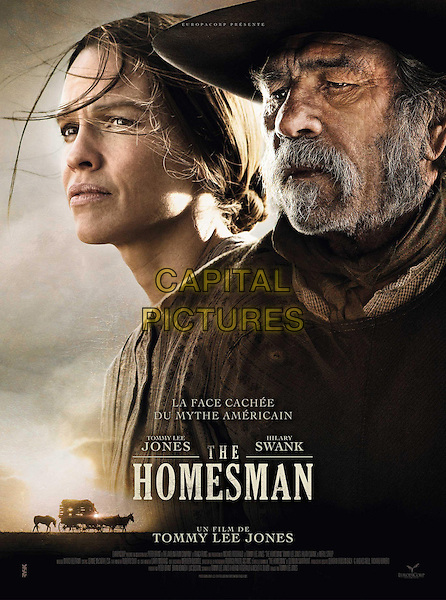 FRENCH POSTER ART<br /> in The Homesman (2014) <br /> *Filmstill - Editorial Use Only*<br /> CAP/FB<br /> Image supplied by Capital Pictures