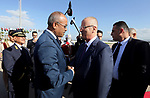Palestinian Prime Minister Rami Hamdallah arrives to participate in 35th Session of the Council of Arab Ministers of the Interior, in Algiers, Algeria on March 6, 2018. Photo by Prime Minister Office