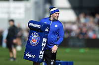 Allan Ryan of Bath Rugby looks on during the pre-match warm-up. Gallagher Premiership match, between Exeter Chiefs and Bath Rugby on March 24, 2019 at Sandy Park in Exeter, England. Photo by: Patrick Khachfe / Onside Images