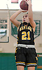 Julia Wilkinson #21 of Wantagh pulls up for a jumper during a non-league varsity girls basketball game against host Seaford High School on Friday, Dec. 29, 2017. Seaford won by a score of 65-56.