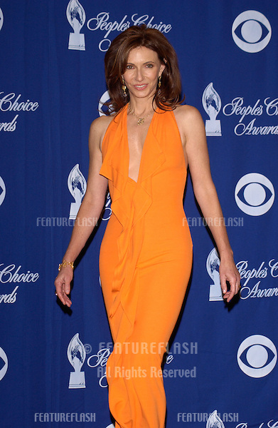 MARY STEENBURGEN at the 30th Annual People's Choice Awards in Pasadena, CA..January 11, 2004