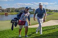 Tyrrell Hatton (ENG) departs 18 during round 1 of the Arnold Palmer Invitational at Bay Hill Golf Club, Bay Hill, Florida. 3/7/2019.<br /> Picture: Golffile | Ken Murray<br /> <br /> <br /> All photo usage must carry mandatory copyright credit (&copy; Golffile | Ken Murray)