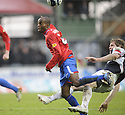 05/12/2009  Copyright  Pic : James Stewart.sct_jspa12_falkirk_v_rangers  . :: DARREN BARR BRINGS DOWN DAMARCUS BEASLEY FOR RANGERS' PENALTY :: .James Stewart Photography 19 Carronlea Drive, Falkirk. FK2 8DN      Vat Reg No. 607 6932 25.Telephone      : +44 (0)1324 570291 .Mobile              : +44 (0)7721 416997.E-mail  :  jim@jspa.co.uk.If you require further information then contact Jim Stewart on any of the numbers above.........