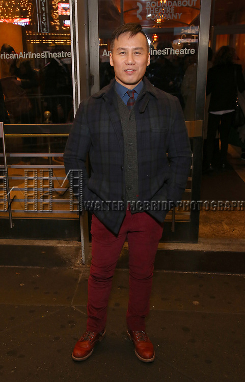 """B.D. Wong attends the Broadway Opening Night Performance of """"John Lithgow: Stories by Heart"""" at the American Airlines Theatre on January 11, 2018 in New York City."""