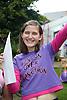 Teenage girl celebrating her exam results,